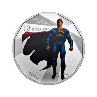 Moneda de plata Superman1/2 oz