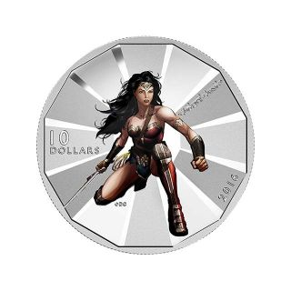 Moneda de plata Wonder Woman1/2 oz