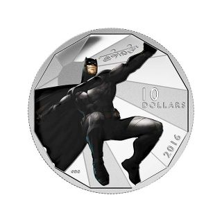 Moneda de plata Batman1/2 oz