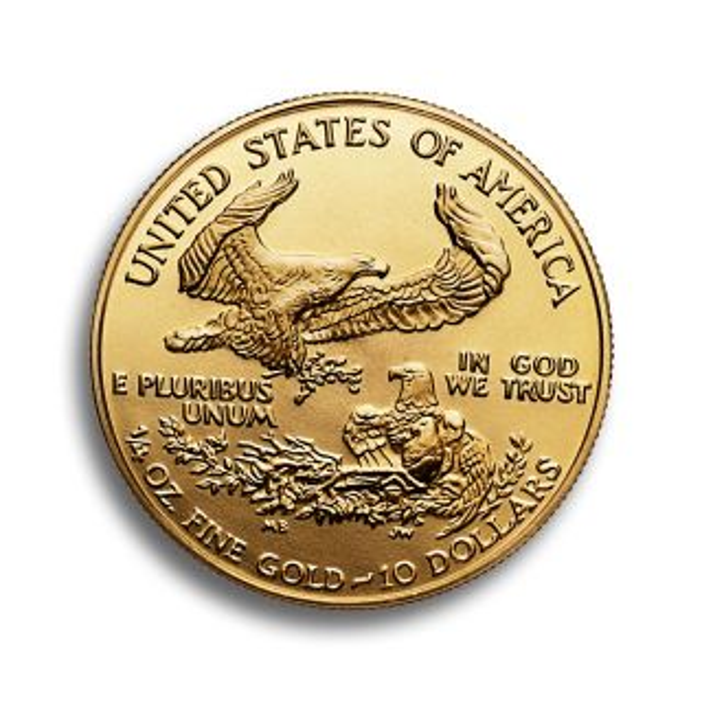 Moneda de oro American Eagle 1/4 oz