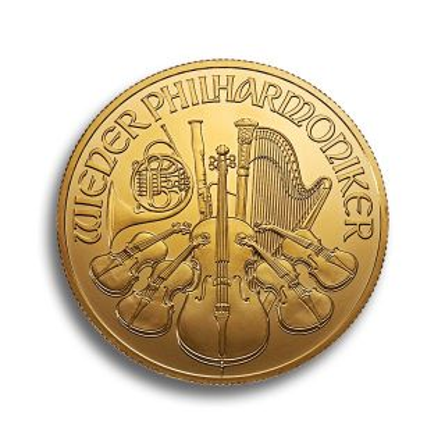 Moneda de oro Filarmonica de 1 oz 2014